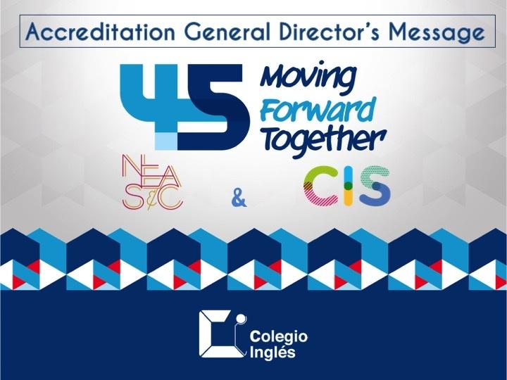 Accreditation General Directors Message