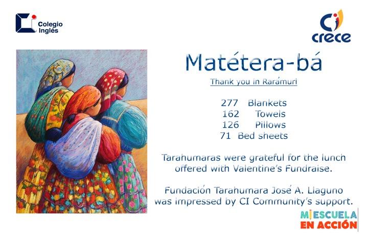 Tarahumaras Donations