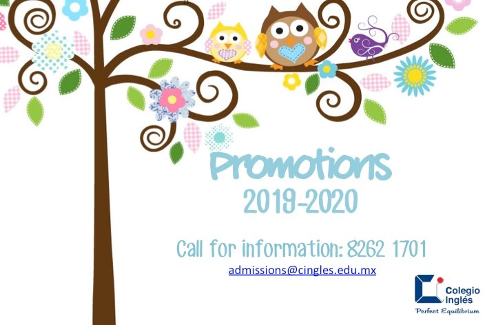 NEW: Promoción Cuota Nuevo Ingreso/Promotion New E