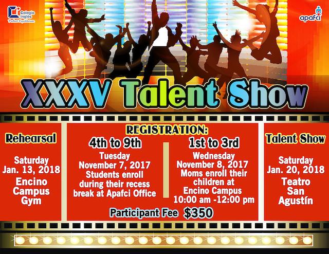 Talent Show 17-18