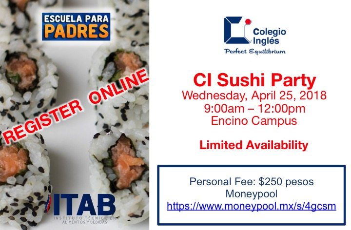 CI Sushi Party-Workshop
