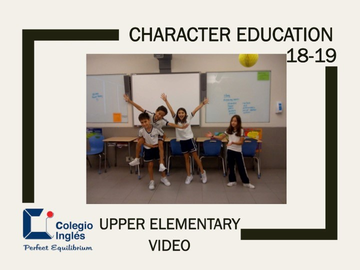 UE Character Education