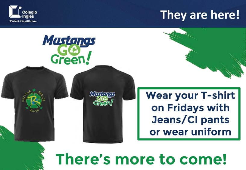 Mustangs Go Green T-shirts