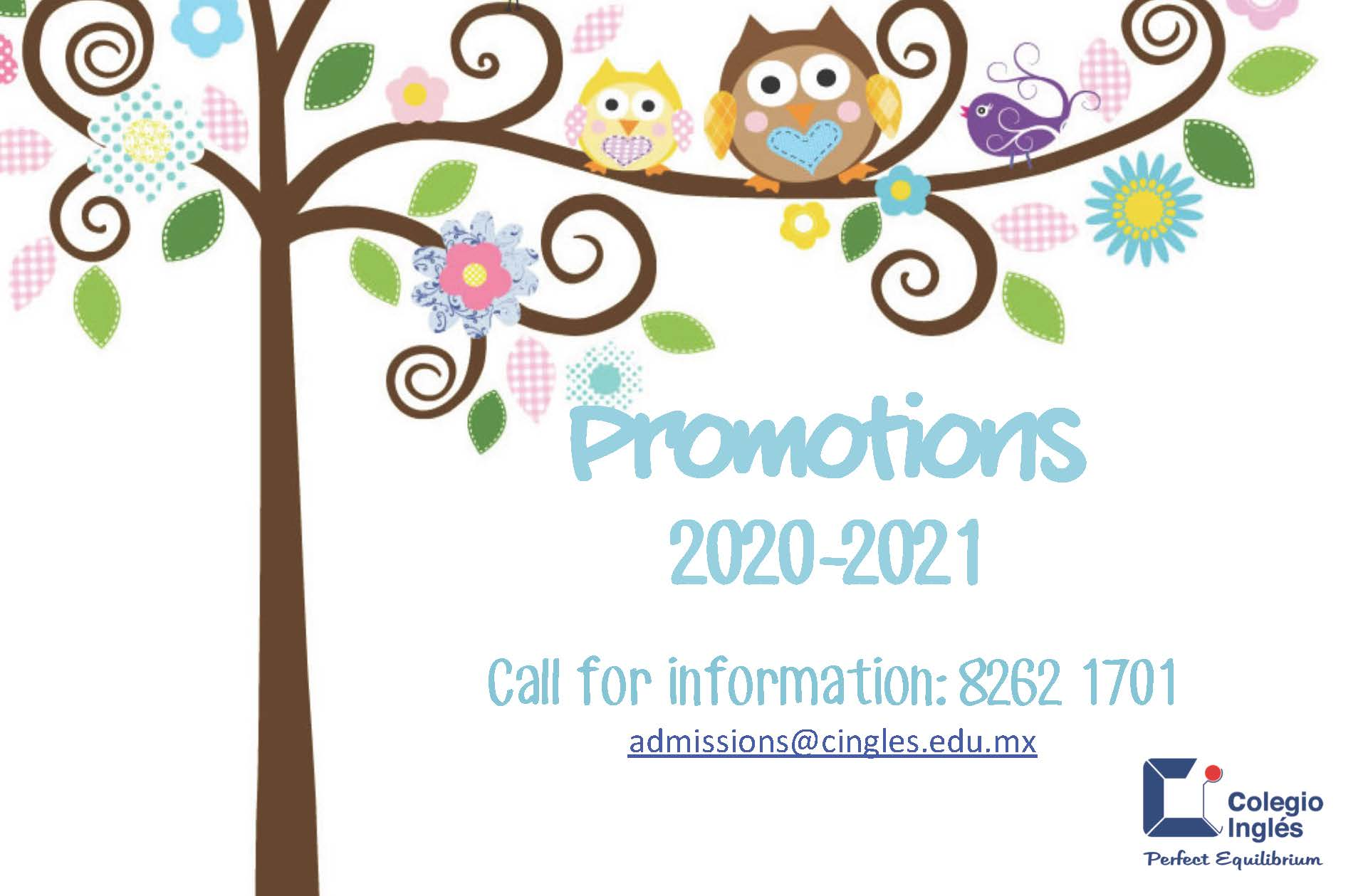 Promotions 20-21