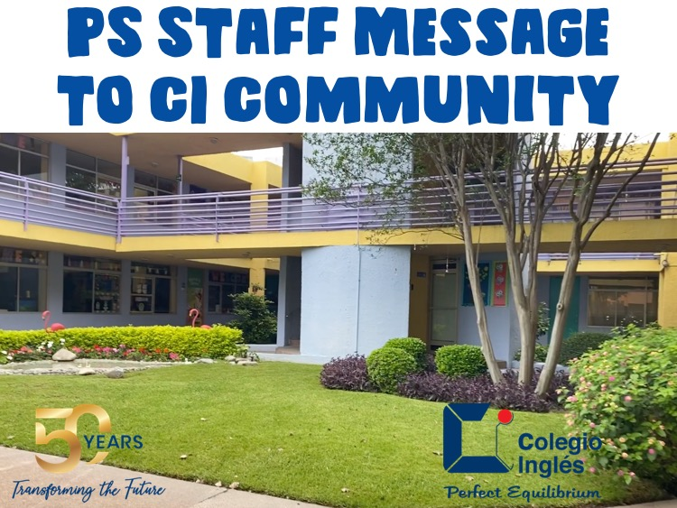 PS Staff Message to CI Community