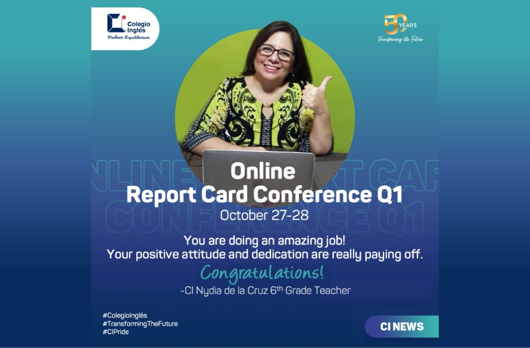 Online Report Card Conference Q1