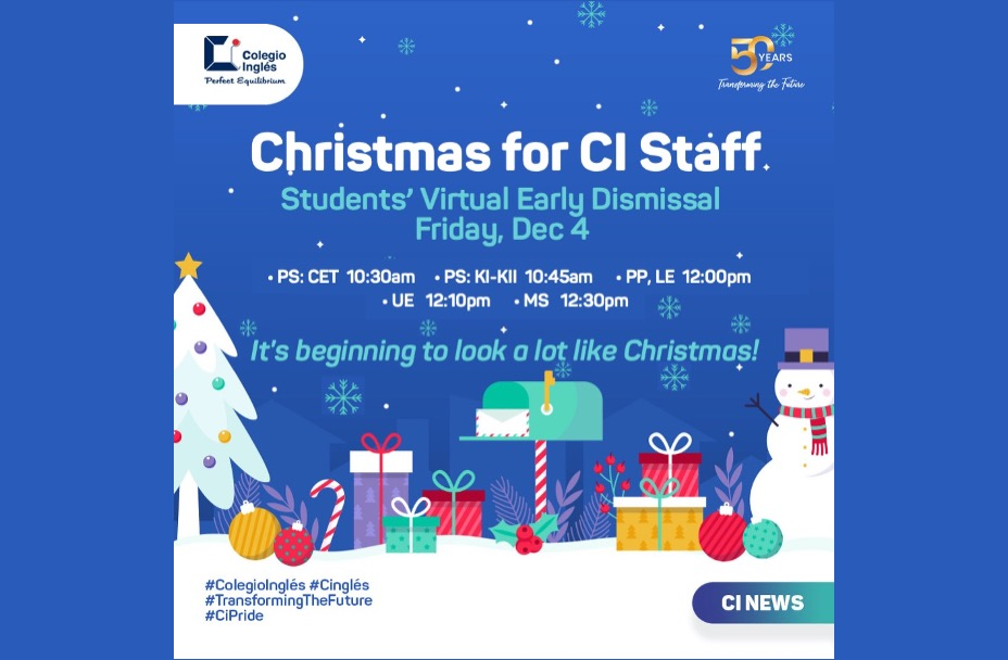 CI Christmas Staff Early