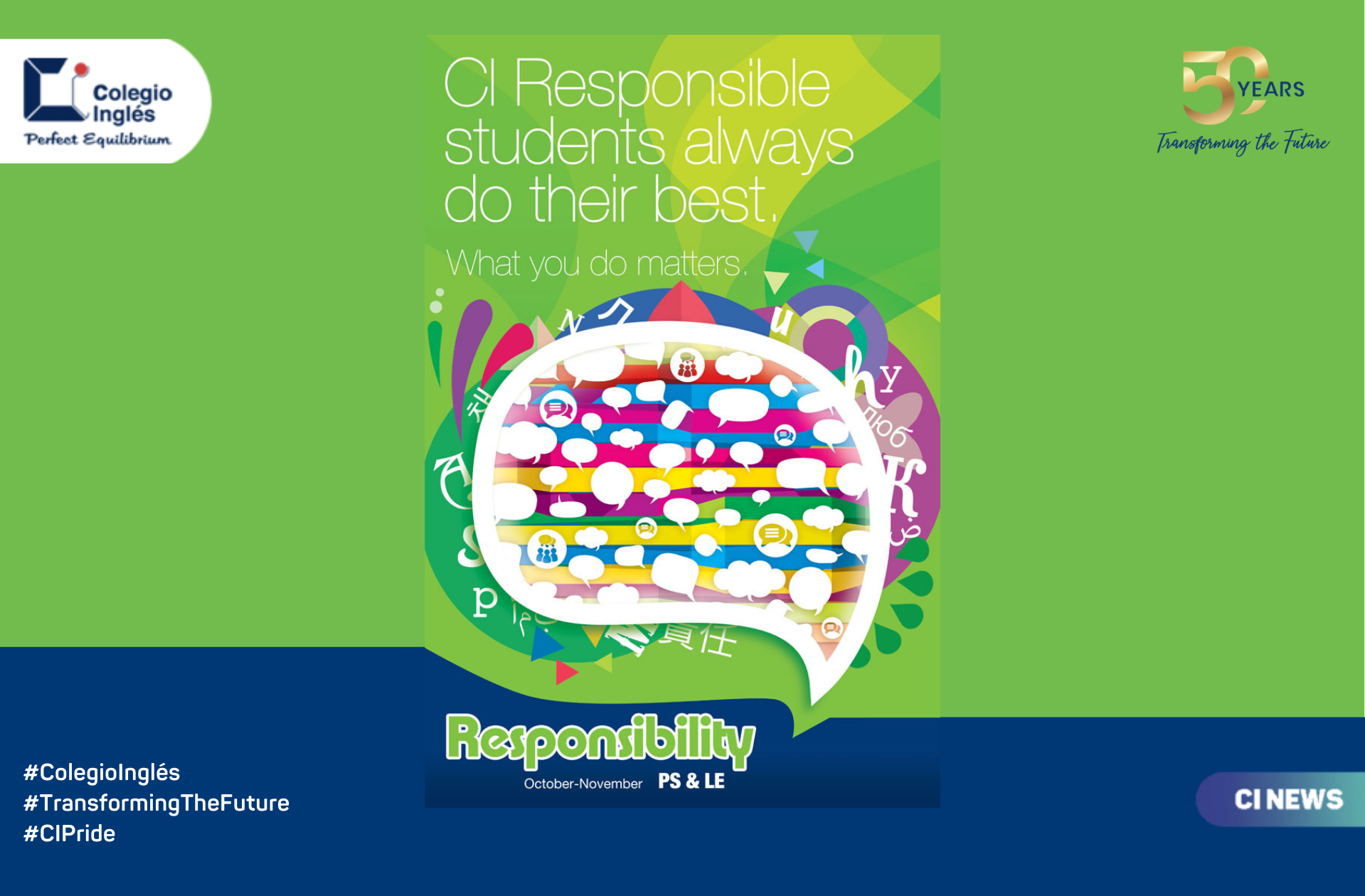 Value of the Month: Responsibility